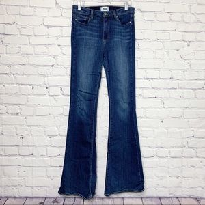 PAIGE High Rise Bell Canyon Nottingham Jean 30